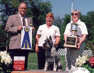 {September 20, 2001 - first leg for CDX and HIT at SSCA National Specialty!!}